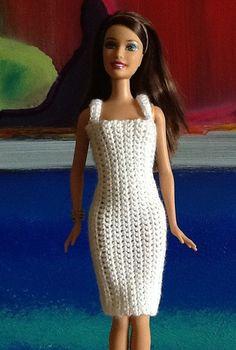 ... or fashion doll. OOAK | Crochet Dresses, Barbie and Fashion Dolls