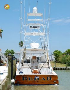 After a rough week on the job, it looks like Team Reel Life will be checking into Rehab....#reellife #fishinghumor #Friday #letsgetreel #yeti #costa #flogrown #floridafishing #boating #offshorefishing