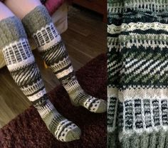 Anelmaiset by Tuija Leg Warmers, Knit Crochet, Crochet Patterns, Socks, Knitting, Ideas, Leg Warmers Outfit, Tricot, Cast On Knitting