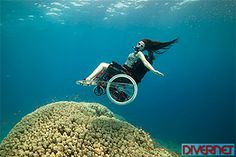 Sue Austin: Deep sea diving...in a wheelchair. There's no limit to the imagination. Amazing!