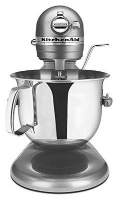 50% OFF SALE PRICE - $199.97 - KitchenAid RKSM6573CU 6-Qt. Professional Bowl-Lift Stand Mixer - Contour Silver (Certified Refurbished)