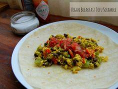 Vegan Breakfast Tofu Scramble - The Live Well Vegan