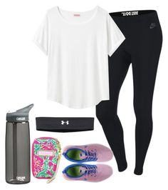 """December 11th // Fieldtrip"" by daydreammmm ❤ liked on Polyvore featuring NIKE, Organic by John Patrick, CamelBak, Lilly Pulitzer and Under Armour"