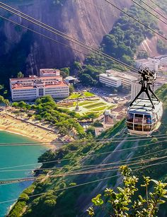 Rule 1 to traveling in Rio de Janeiro: ride the Sugarloaf Cable Car to the top of Pão de Açúcar. The bubble-shaped cable cars give the best panoramic views of Brazil's most famous summit.