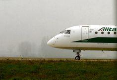 ERJ-175Std Alitalia CityLiner EI-RDI (cn 17000340) at Milan Linate Airport