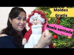 Christmas Decorations, Christmas Ornaments, Holiday Decor, Fall Crafts, Diy Crafts, Gnome, Diy Tutorial, Dolls, Youtube
