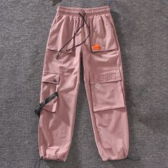 Autumn Streetwear embroidery Cargo Pants – - Online Shopping for Clothes Girls Fashion Clothes, Teen Fashion Outfits, Retro Outfits, Fall Outfits, Kpop Clothes, Swag Girl Outfits, Teenage Clothing, Nike Clothes, Fashion Dresses