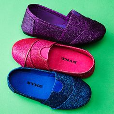 How stinkin cute for little girls! Sneakers & Slip-On Shoes - $9.99!