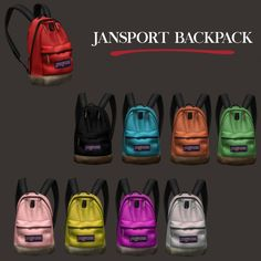 Leo Sims - Jansport backpack for The Sims 4