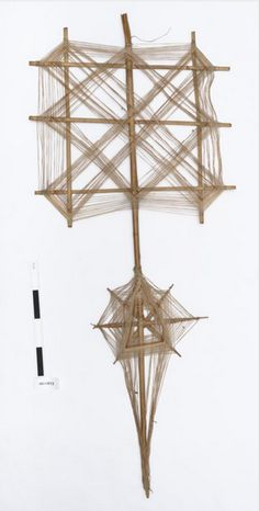 """cinoh: """" in-the-horniman: This is a ghost trap from Tibet. The trap is also known as a Namkhar, which means sky in Tibetan. The trap serves many purposes, not just the protection from ghosts. Anima And Animus, Paper Wall Art, Spirograph, Weaving Art, Back To Nature, String Art, Tibet, Colorful Decor, Fiber Art"""