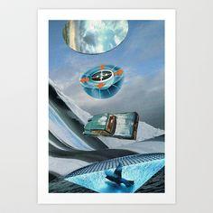 0o/> Art Print by Hugo Barros - $20.00