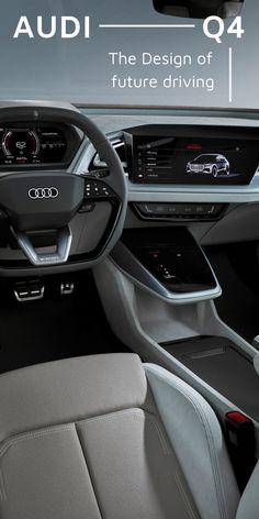 Audi Sports Car, Audi Cars, Audi Sportback, Audi Interior, Audi Q4, Electric Crossover, Volkswagen Group, Futuristic Cars, Concept Cars