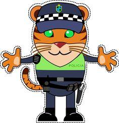 La ciudad está segura con nuestro agente de policía
