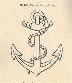 Ancre Marine Dessin ancre marine dessin tatouage | tuer auf