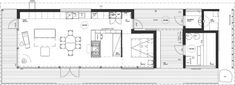 Villa K&Y | Arkkitehtitoimisto meark Oy Villa, Floor Plans, Cottage, House, Barn, Converted Barn, Home, Cottages, Cabin