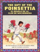 This bilingual book by Pat Mora is written in Spanish and English. It's about about a young and poor Mexican boy who participates in the festivities of Las Posadas and every night shares Mexican treats and fun stories with his aunt and dog. In the end Carlos was sad that he was only able to give Baby Jesus a small gift, but to his surprise the small plant grew into beautiful bright red flowers. This book would be great to use on a lesson about different Christmas traditions around the world.