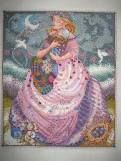 My first Mirabilia Cross Stitch with beads project.