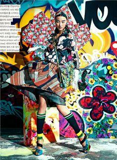 """Art Factory"": Ji Hye Park by Hyea Won Kang for Vogue Korea February 2014"