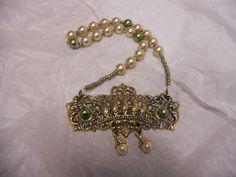 Knocker Plate Necklace