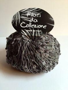 10 gomitoli cotone Filati da Collezione grigio di TheCroKnitClub su Etsy https://www.etsy.com/it/listing/230096778/10-gomitoli-cotone-filati-da-collezione