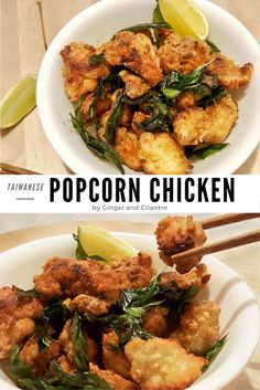 Taiwanese Popcorn Chicken - These bit-sized pieces are blended with Japanese and Taiwanese influences, guaranteed to delight