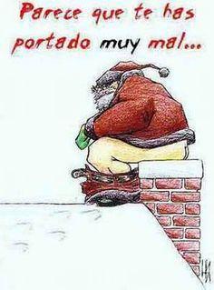 chiste grafico navidad papa noel