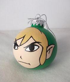 Mario Chomp Christmas Ornament One Hand Painted Mario Inspired