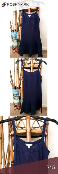 AMBIANCE APPAREL | NWOT Navy Blue Pajama Dress My prices change often for sales & specials, so buy your favorite items when prices are low! Thank you for shopping my closet. Mahalo!🤙🏼♥️ Ambiance Intimates & Sleepwear
