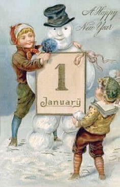 Vintage New Year postcard Vintage Happy New Year, Happy New Year 2014, Happy New Year Cards, New Year Greeting Cards, New Year Wishes, New Year Greetings, Vintage Greeting Cards, Vintage Postcards, Happy 2015