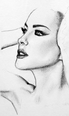 Pencil Portrait Drawing (2013, graphite)