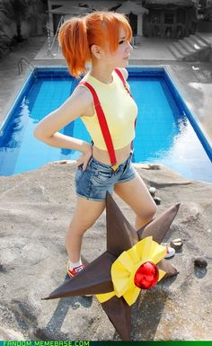 SailorMappy's Misty cosplay from Poke'mon...spot on!