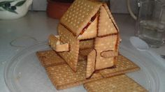 Biscuit house My Recipes, Waffles, Biscuits, Breakfast, Christmas, Blog, House, Crack Crackers, Morning Coffee