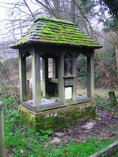 Holy Well, Dunsfold, Surrey by yateleyart, via Flickr
