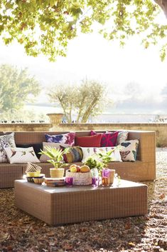 Amazilia fabrics by Harlequin are great for outdoor living