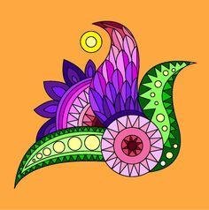 Zentangle, Mandala, Enamel, Zentangles, Zen Tangles, Enamels, Mandalas, Vitreous Enamel, Coloring Pages Mandala