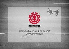 Nowa jesienna kolekcja od @elementbrand już w naszym sklepie www.SnowCity.pl