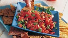 A Betty Crocker cookbook shares a healthy recipe! Feel good about this low-calorie, low-fat and vitamin-rich salsa.