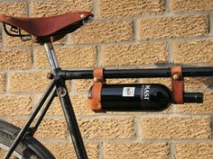 Cyclist's wine carrier! One of a Kind finds for cottage and outdoor living. Afternoon naps, fresh croissants served deckside-table — cottage days are coming and now is the time to prep and feather with Canadian artisans.