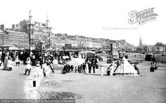 Weymouth, Beach Show 1899, from Francis Frith
