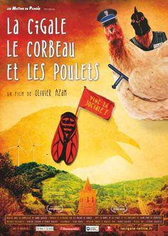 La cigale, le corbeau et les poulets : une fable cocasse et une belle leçon de résistance