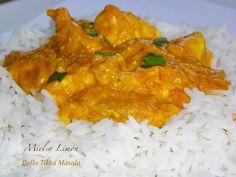 POLLO ESTILO TIKKA MASALA   Cocina Lidl, Pollo Tikka Masala, Curry, Food N, Healthy, Ethnic Recipes, Asian Side Dishes, Limeade Recipe, Breast