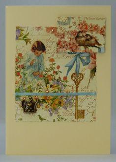 Handmade Card - Little Gardener £2.50