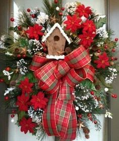 Holiday door decor