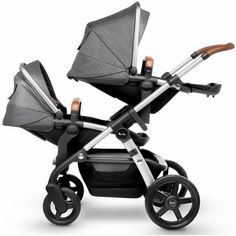 Add the Silver Cross Wave Tandem Seat to create a double stroller for twins or siblings. With the Tandem Seat, the Silver Cross Wave stroller accommodates 16 different configurations for your growing Double Stroller For Twins, Single Stroller, Twin Strollers, Double Strollers, Convertible Stroller, Pack N Play, Baby Bassinet, Baby Carriage, First Baby
