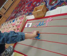 Montessori activity ideas