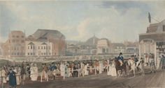 The Pavilion & Steyne at Brighton, 1806. Yale Center for British Art, Paul Mellon Collection
