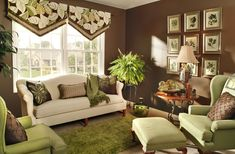 valances window treatments for living room