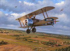 Clairmarais Camel, by Russell Smith (Sopwith Camel, Clairmarais aerodrome, April 23, 1918)