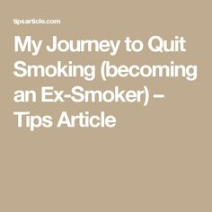 incredible hypnotism quit smoking in minutes quit smoking  my journey to quit smoking becoming an ex smoker tips article