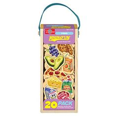 T.S. Shure Food Wooden Magnets Magna Fun Set (20 Piece) *** You can get more details by clicking on the image.